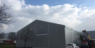 Leichtbauhallen und Lagerzelte